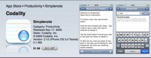 simplenote 300x117 Simplenote For iOS