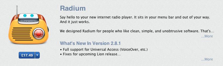 Get 30% off radium