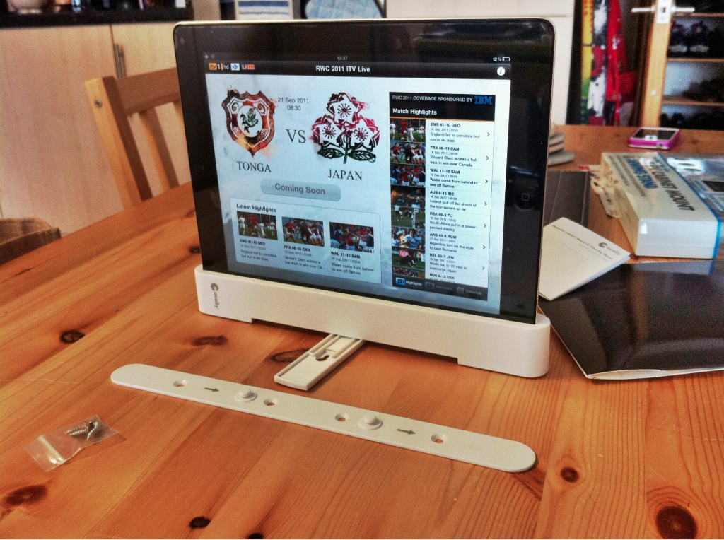 Macally magstand with ipad MacAlly MagStand Magnetic Cabinet Mount And Viewing Stand Review