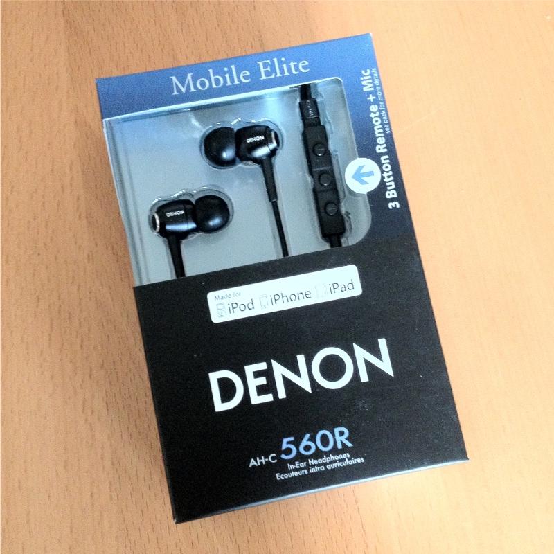 Denon AHC560R Box Reviewed : Denon AHC560R In Ear Headphones with Remote & Mic