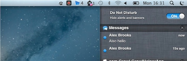 Mountain Lion Do Not Disturb