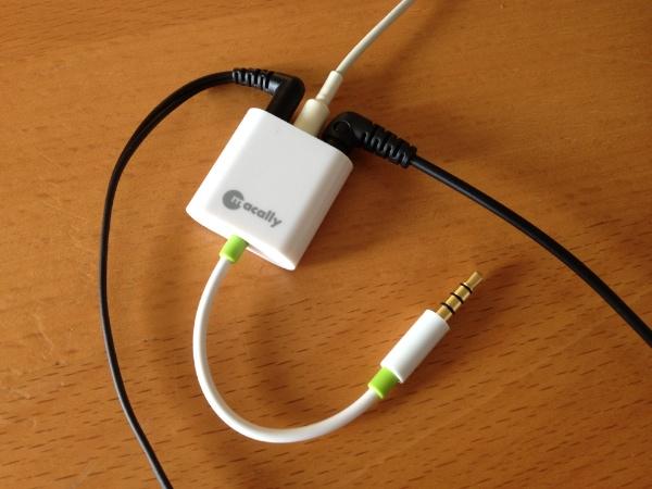 Macally Audio 3 with Headphones Reviewed : Macally Audio3 3 Way Headphone Splitter