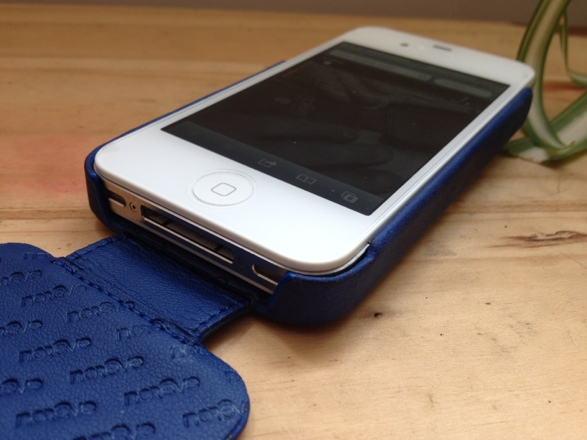 20120828 140957 Review : Noreve Exceptional Selection Leather iPhone Case