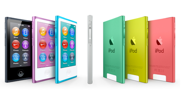 The New iPod 7th Generation ipod Nano