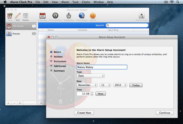 Alarm Clock Pro Setup 1 600x407 Alarm Clock Pro Review : An Alarm App Done Right