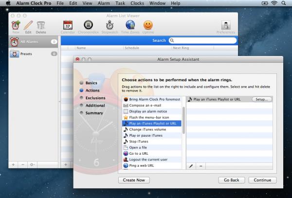 Alarm Clock Pro iTunes Setup 1 600x407 Alarm Clock Pro Review : An Alarm App Done Right
