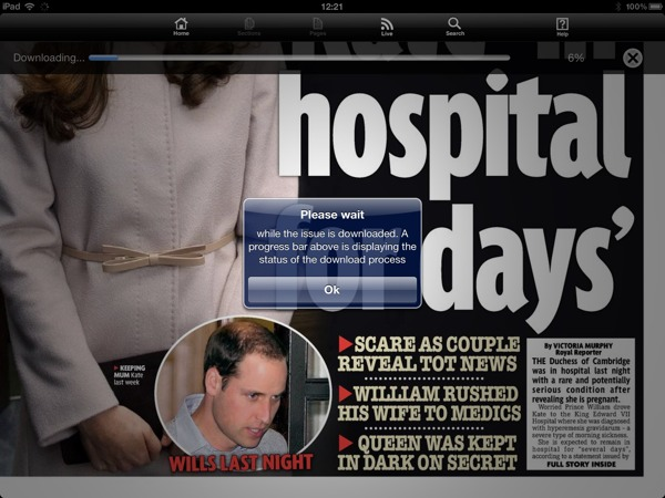1354625065 Daily Mirror Free For iPad owners