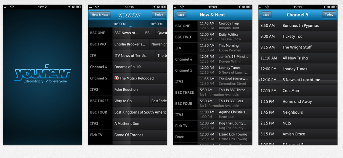 YouView iOS App