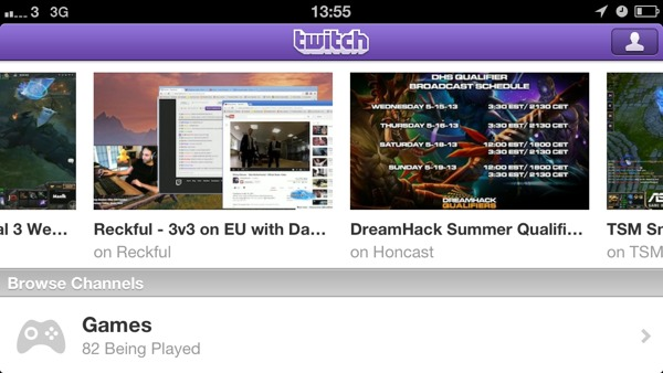 1368622711 Twitch.tv Version 2.3.3. Less Features, More Adverts, Same Blank Video Streams