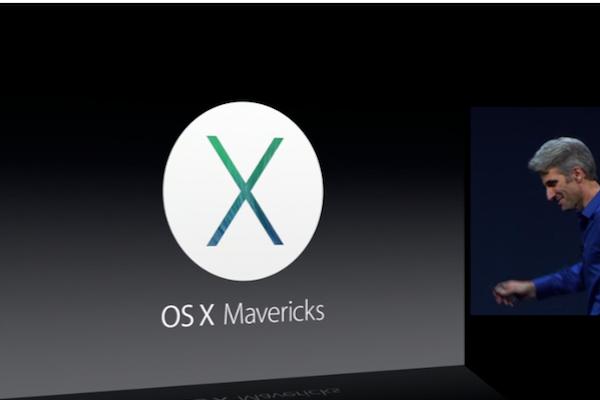Mac OS X Mavericks WWDC 2013.  Lion Goes Extinct.  Now its Mac OS X Mavericks
