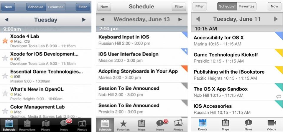 WWDC ios7 twitter WWDC 2013 App Give Us Design Clues To iOS 7 flat design