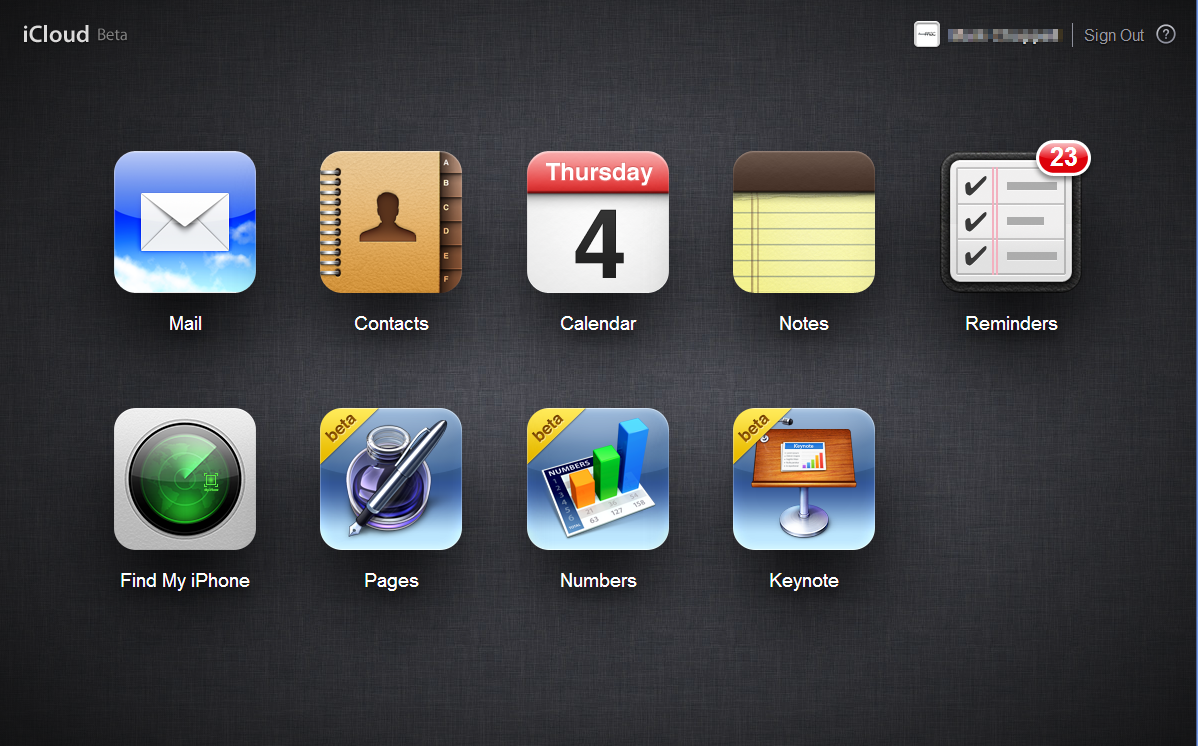 iCloud Beta iWork for iCloud beta Now Available For Registered Developers.