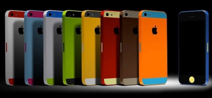iPhone 5s multiple colors