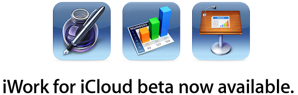 iWork For icloud beta available