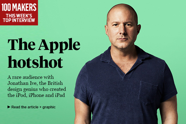 Jonathan Ive Sunday Times Interview
