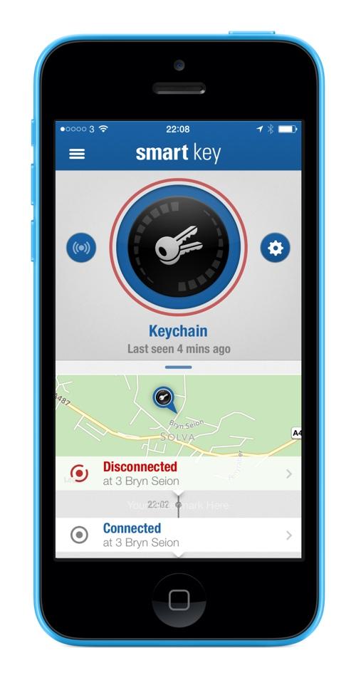 Menu Elgato Smart Key Discon Elgato Smart key Review : Never loose your keys again