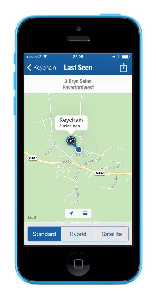 Menu Elgato Smart Key Map Options Elgato Smart key Review : Never loose your keys again