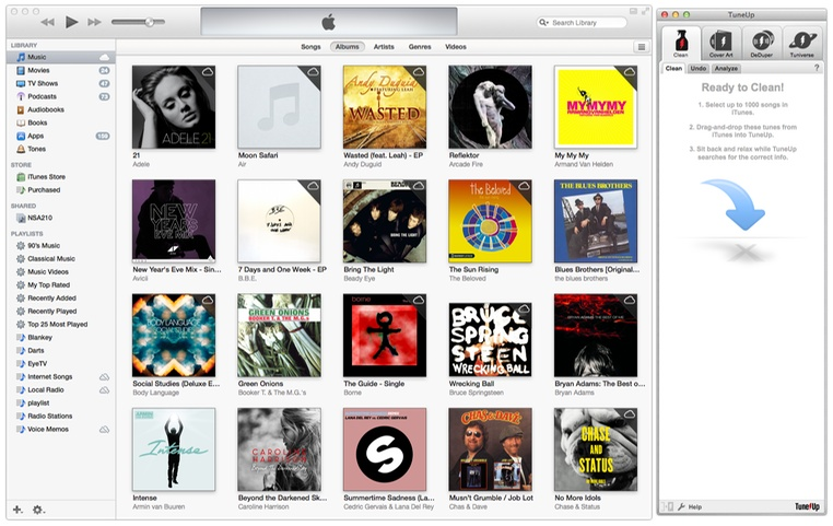 TuneUP For Mac iTunes