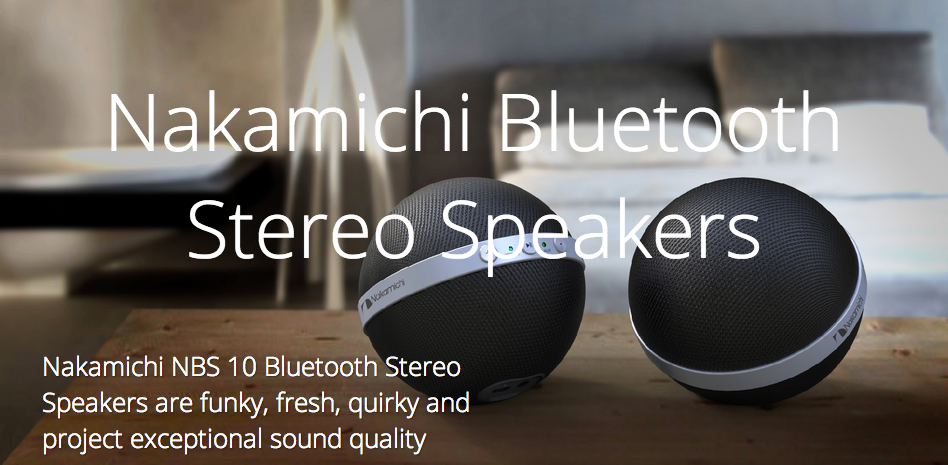 Nakamich Bluetooth Speakers