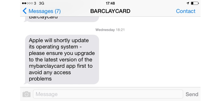 Barclays Apple Banking