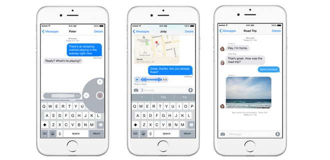 iOS 8 Messages Walkthrough