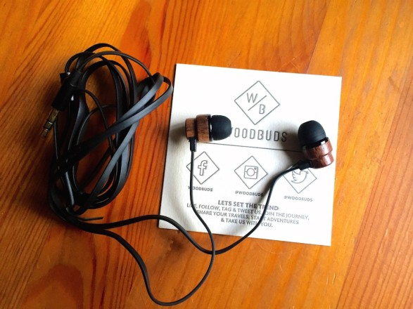 WoodBuds Cable 587x440 WoodBuds HeadPhones, eco friendly and pocket friendly wood earphones