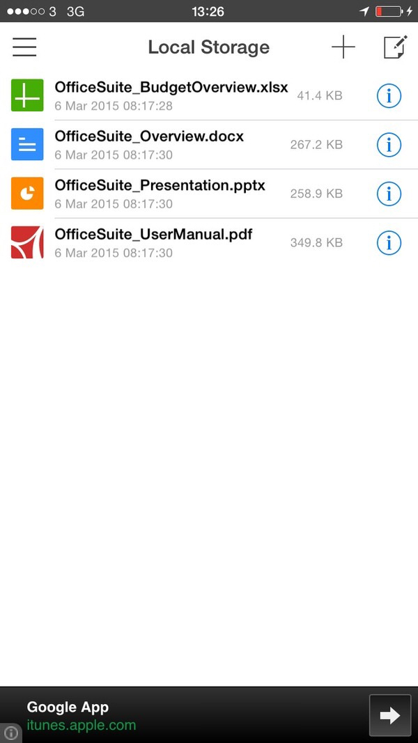 MobiSystems Office Suite Review.  Open & Edit Office Documents Stored Anywhere.