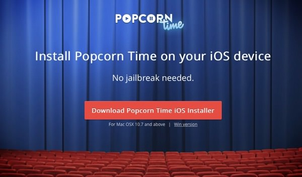PopCornTime Mac Installer