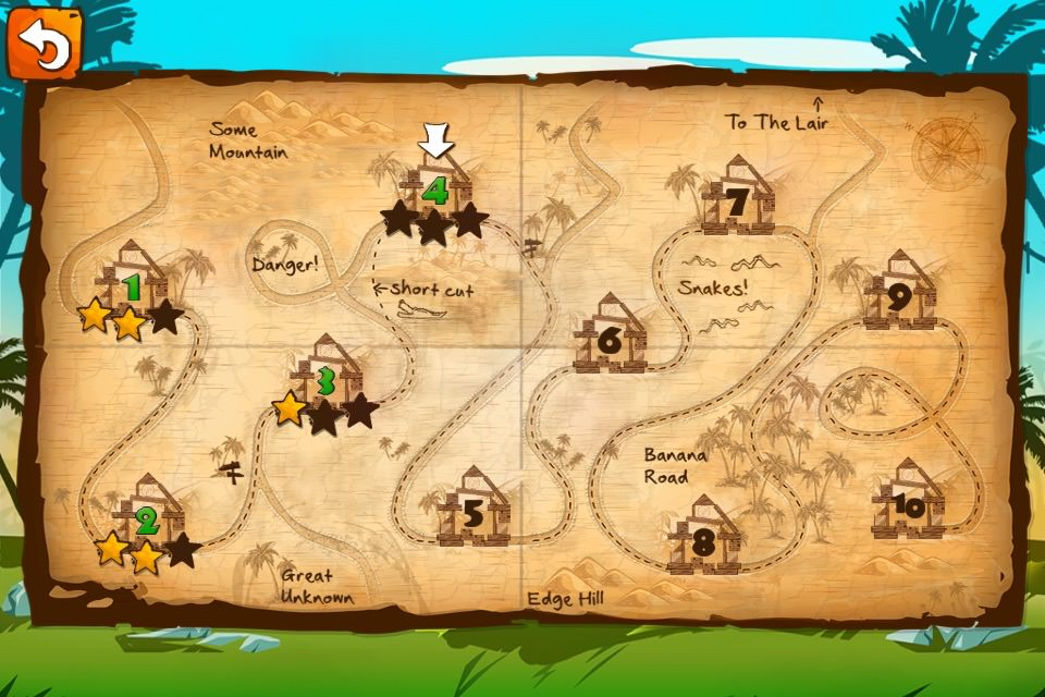 Jungle Treasures 2 Map