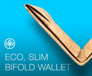Seraph Made Eco Bifold Slim Wallet