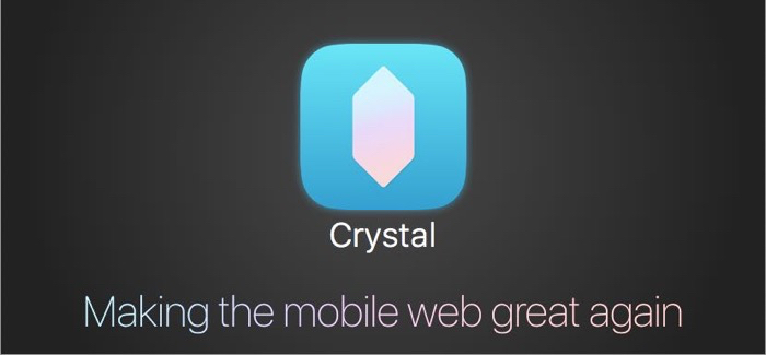 Crystal A Content Blocker for iOS