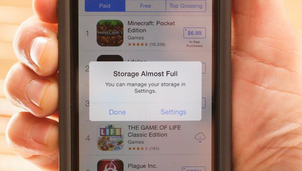 16gb iPhone Storage Full