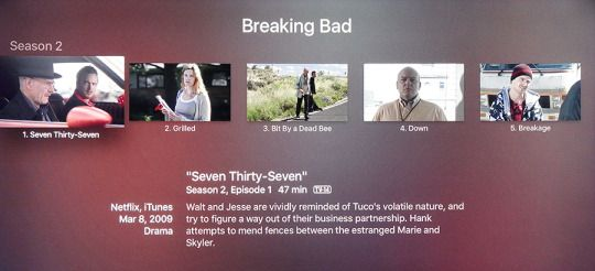 Apple Tv Breaking Bad 1 New Apple TV Reviewed.  Lots Of Potential But