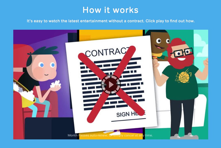 NowTv No Contract