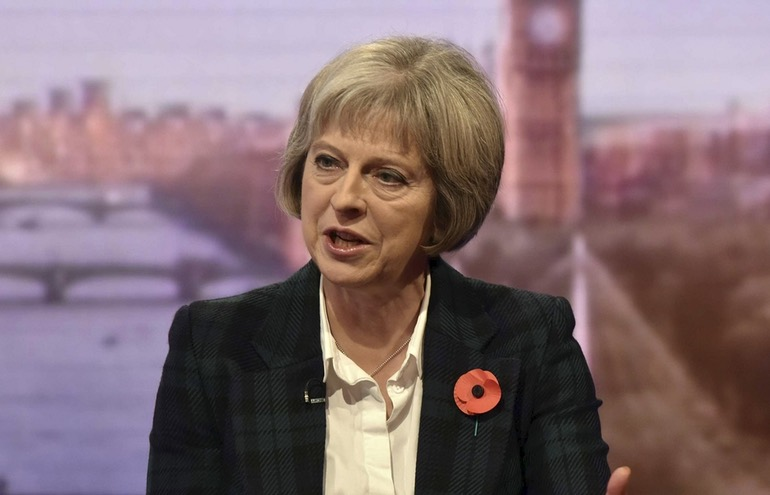 Theresa May Investigatory Powers Bill