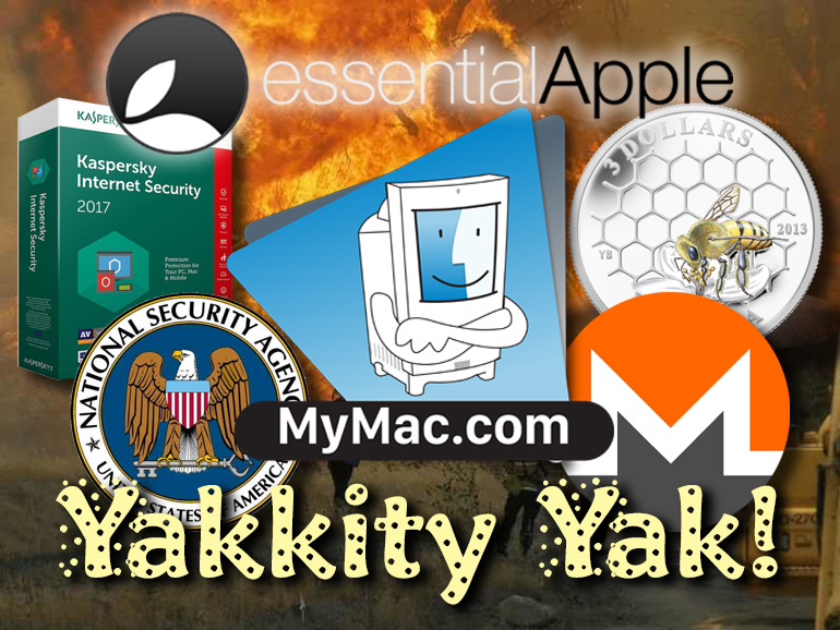 Yakkity Yak Essential Apple Podcast 60: My Mac, Yakkity Yak!